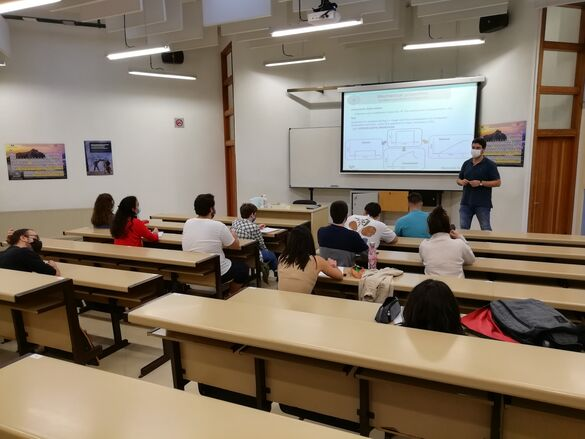 Lecture with the second cohort of Master students